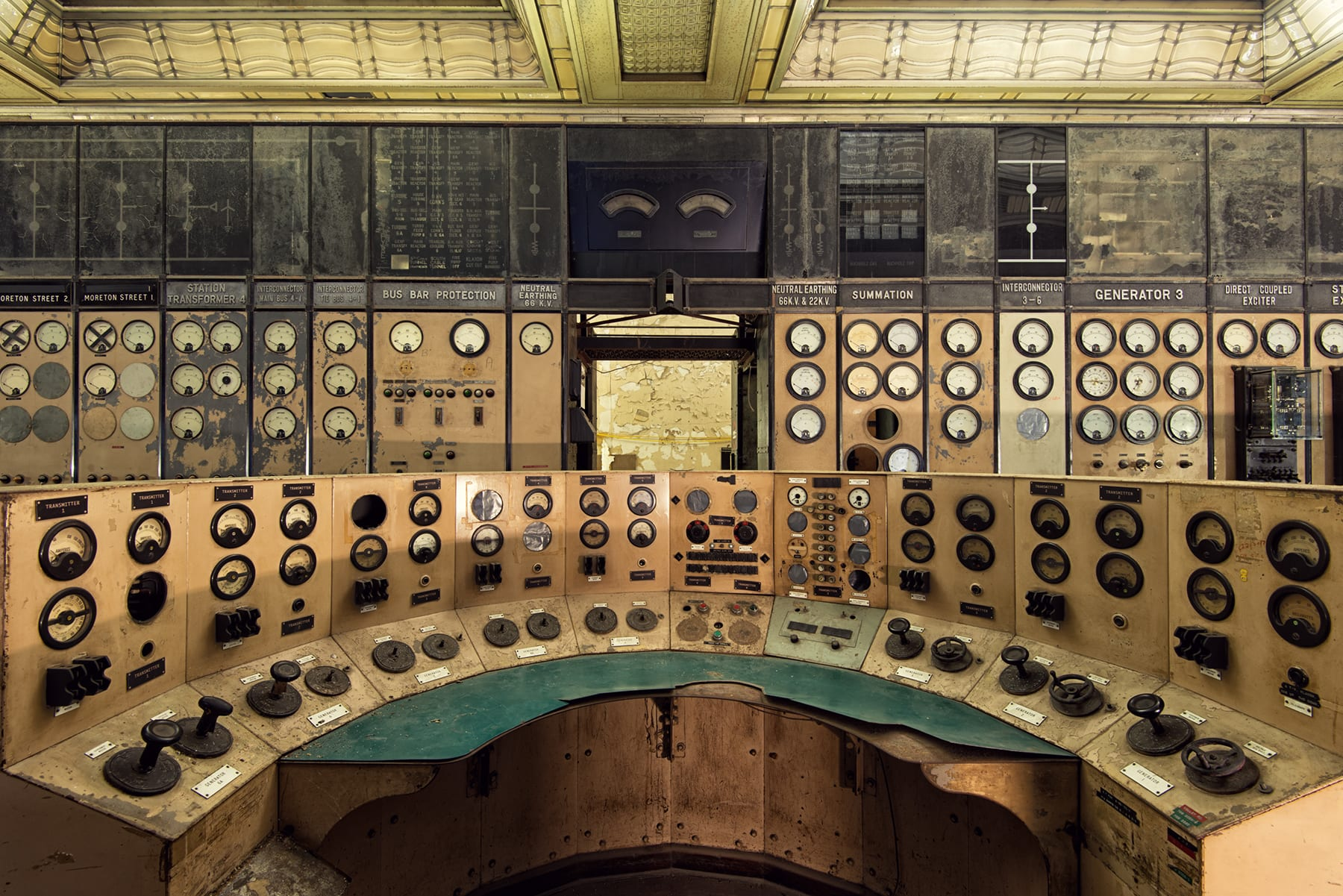 Battersea Power Station Control Room A © Gina Soden