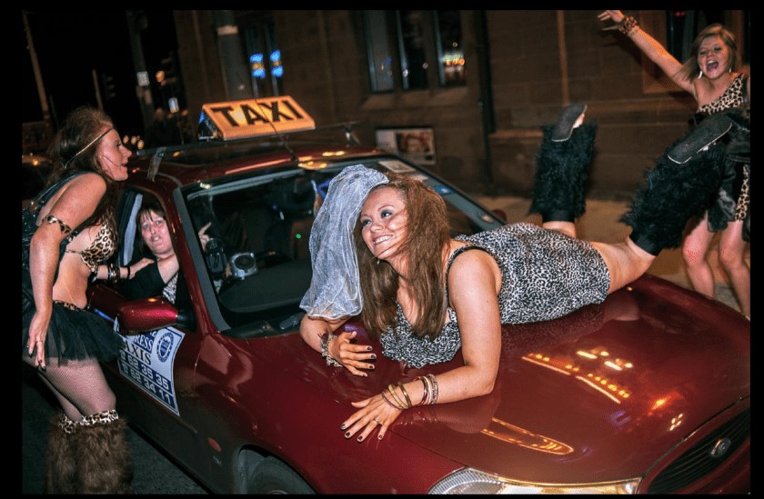 Stags, Hens & Bunnies, A Blackpool Story © Dougie Wallace