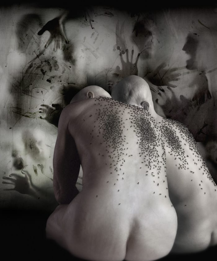 The angels of lot (Gli angeli di lot), 2008. From Sodom and Gomorrah © Alessandro Bavari