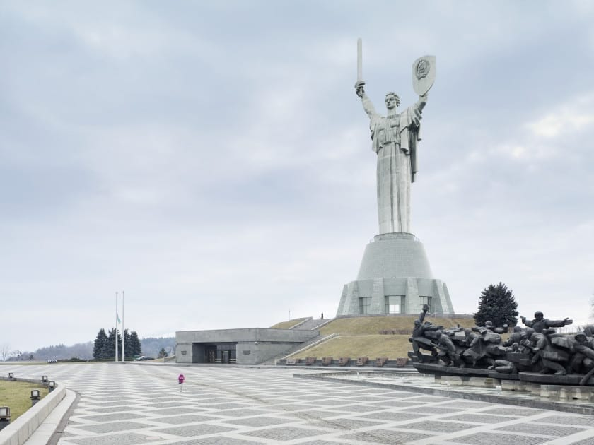 Mother of the Fatherland. Kiev, Ukraine, 62 m (203 ft). Built in1981