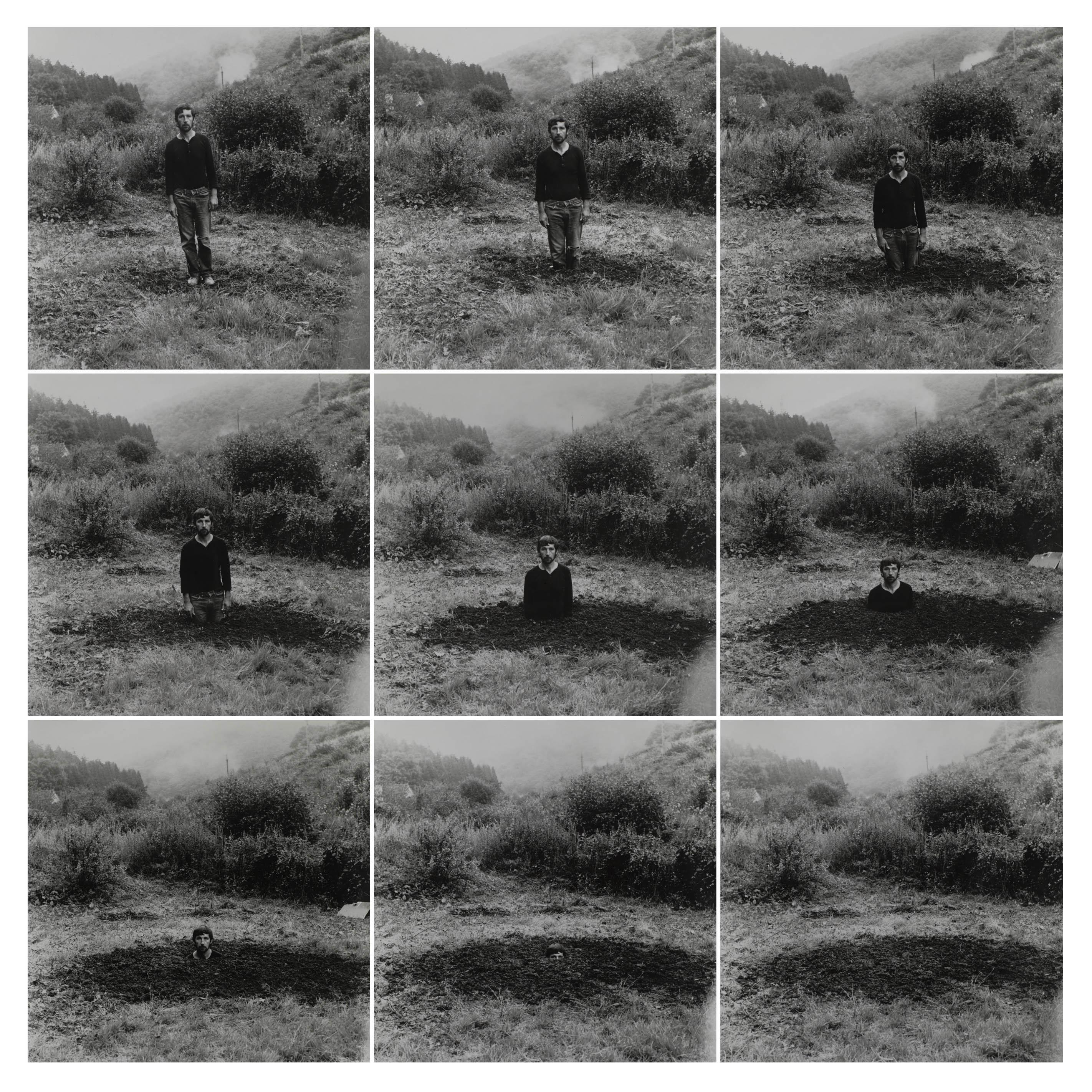 Self-Burial, 1969
