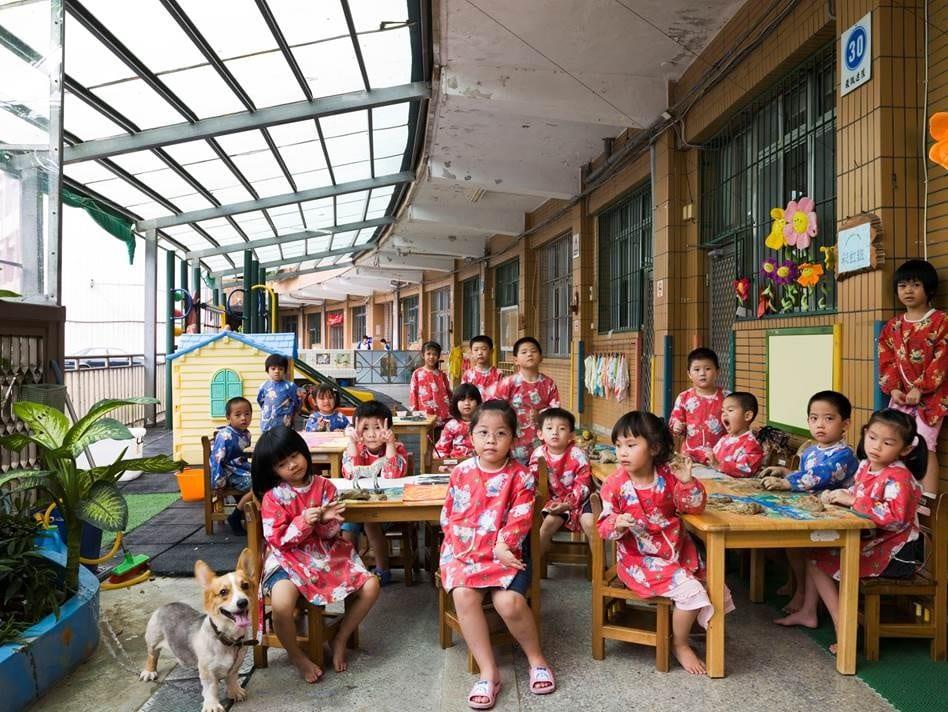 Ruei Fang Junior High School Kindergarden, Ruei Fang Township, Taiwan. Kindergarden, Art. September 15th, 2009