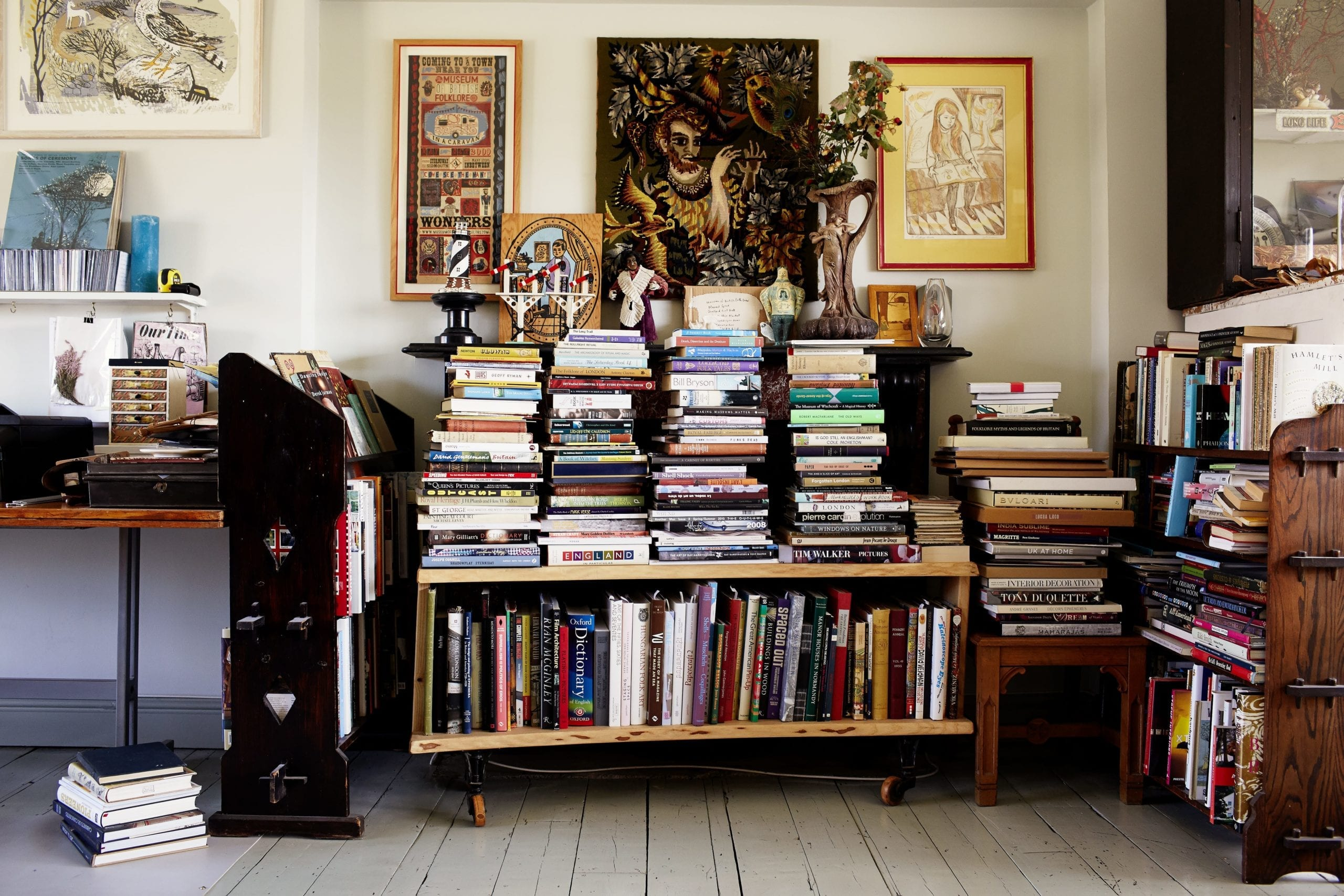 The London home of art director Simon Costin