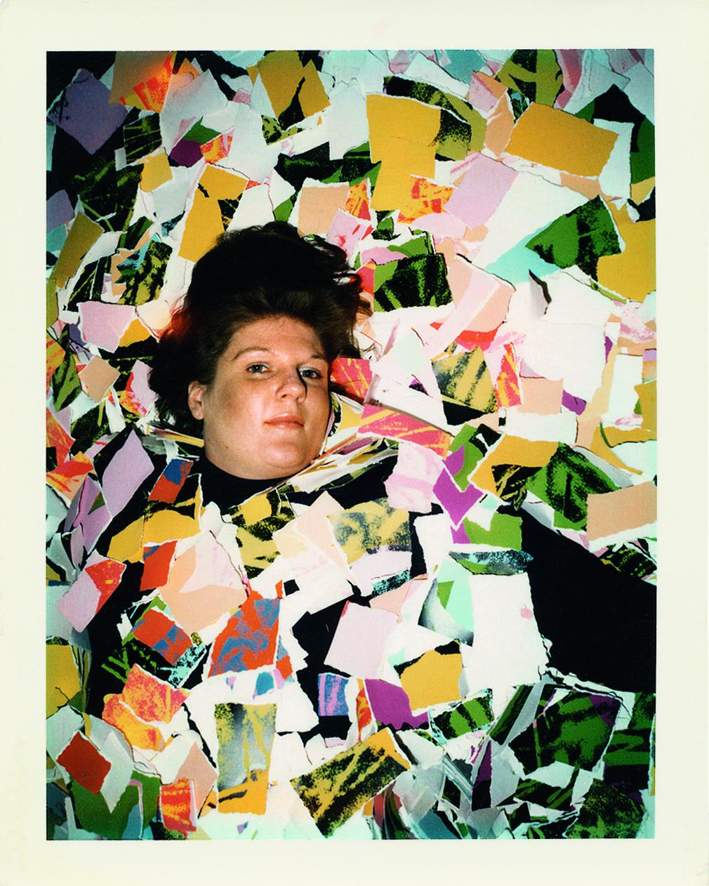 Brigid Berlin self-portrait