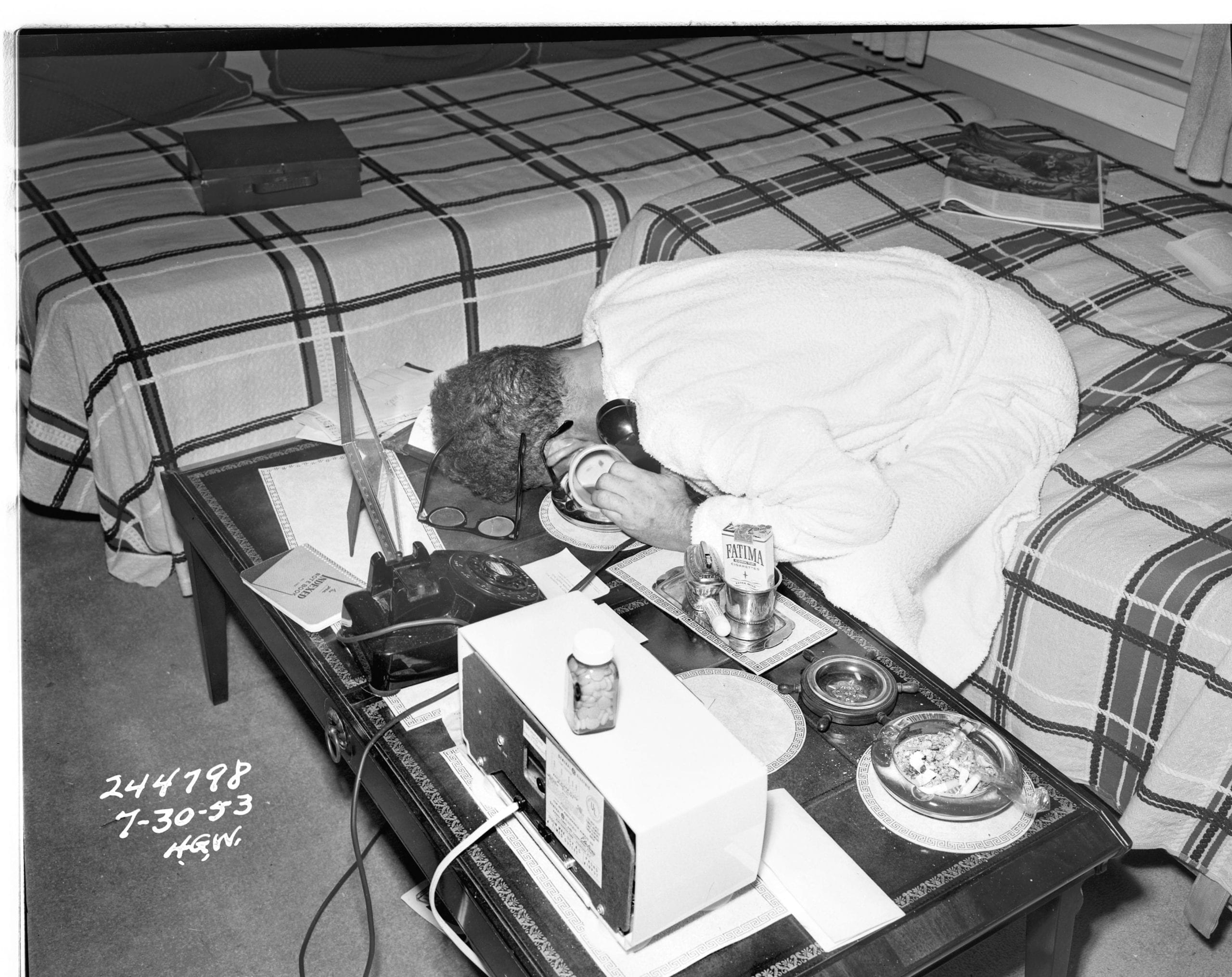Car Museum Los Angeles >> James Ellroy finds real crime-scene photographs from LAPD in 1953 – British Journal of Photography