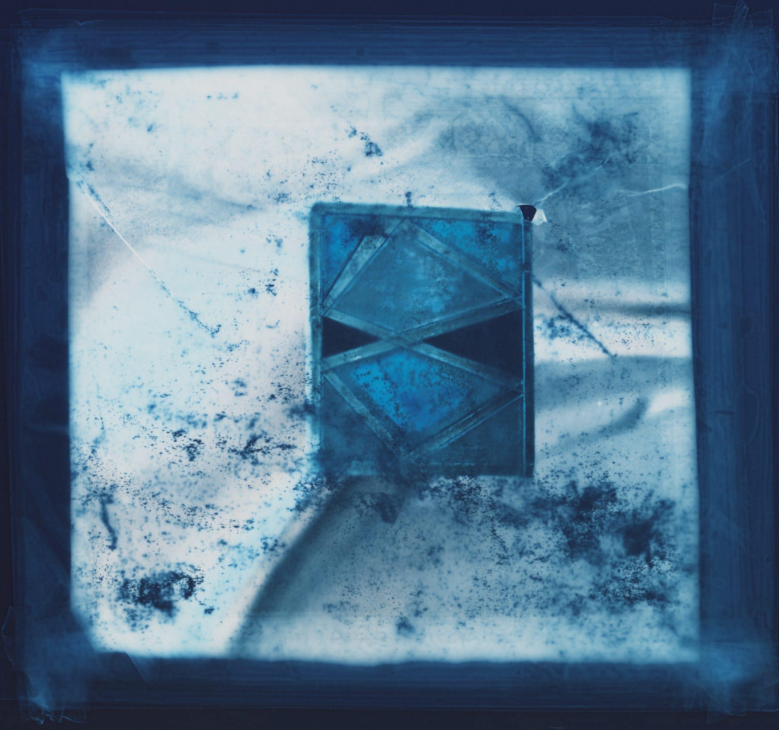 Ceramic Tile Blue © Jennifer Pattison