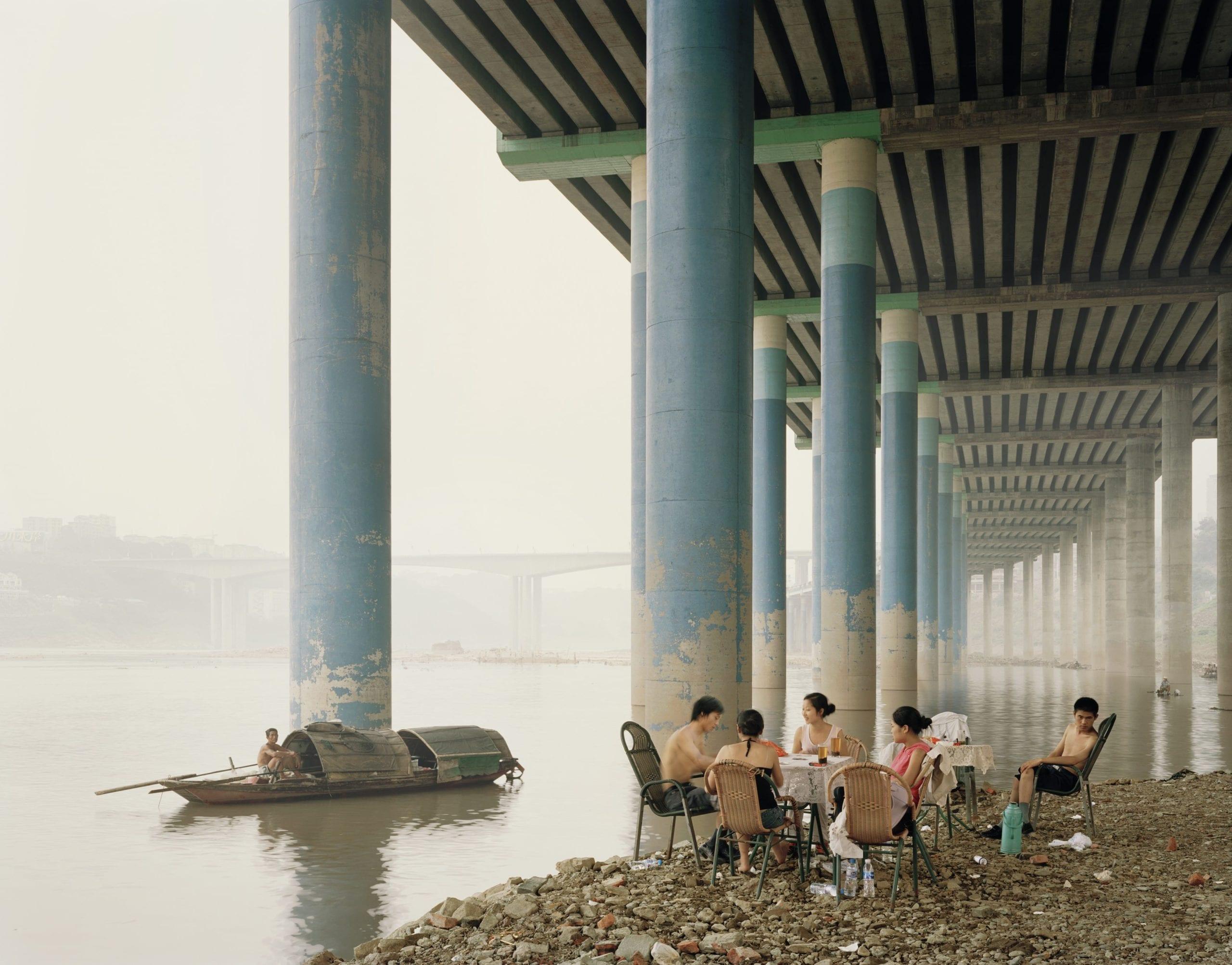 Chongqing IV (Sunday Picnic), Chongqing Municipality, 2006 © Nadav Kander