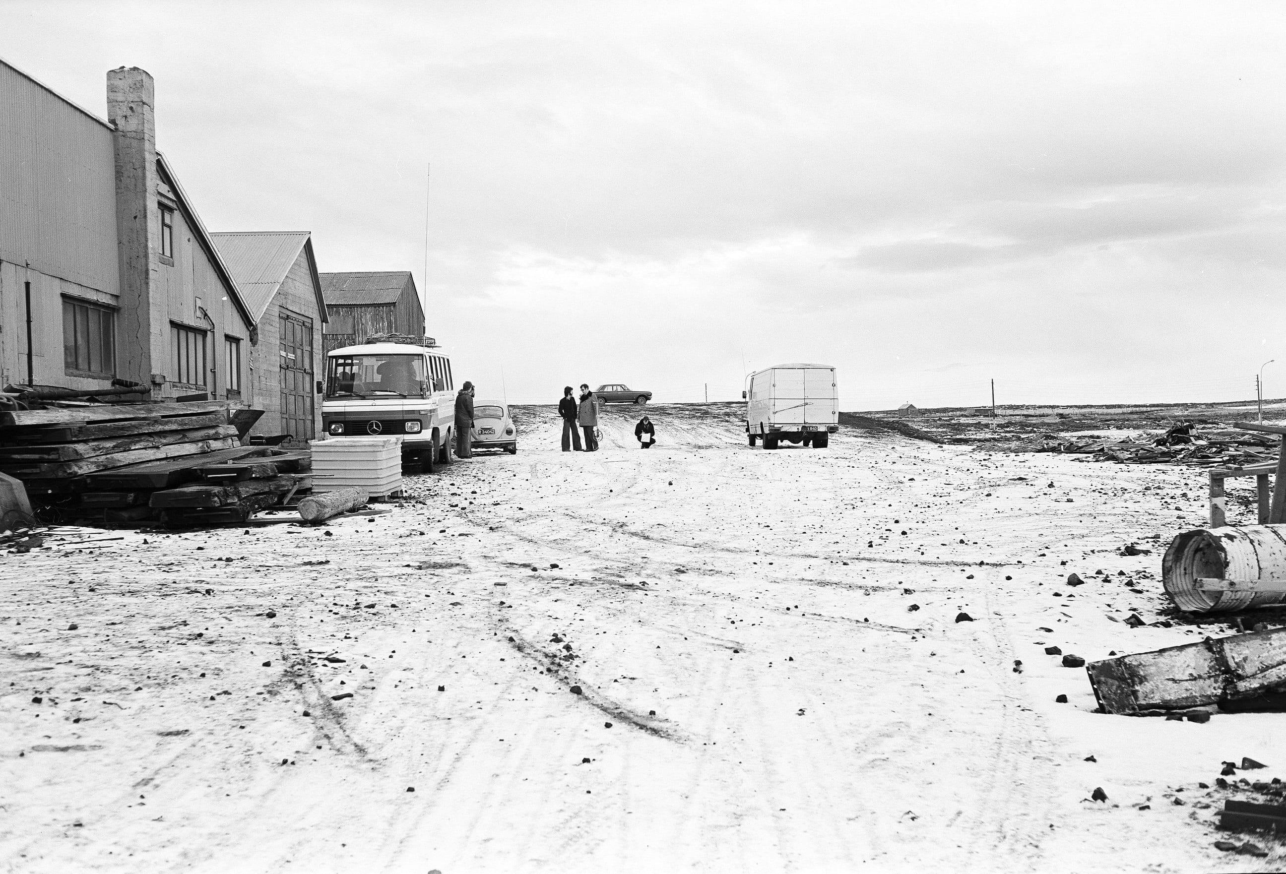 Crime Scene Reconstruction, Keflavik Harbour © Jack Latham