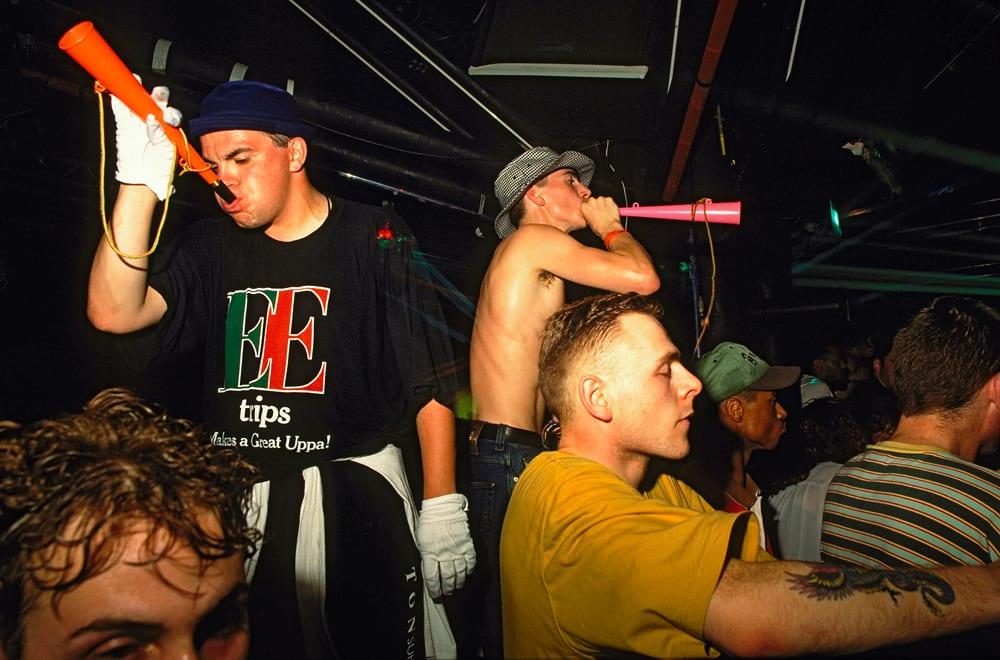 Horns, Roller Express, 1992 © Dave Swindells