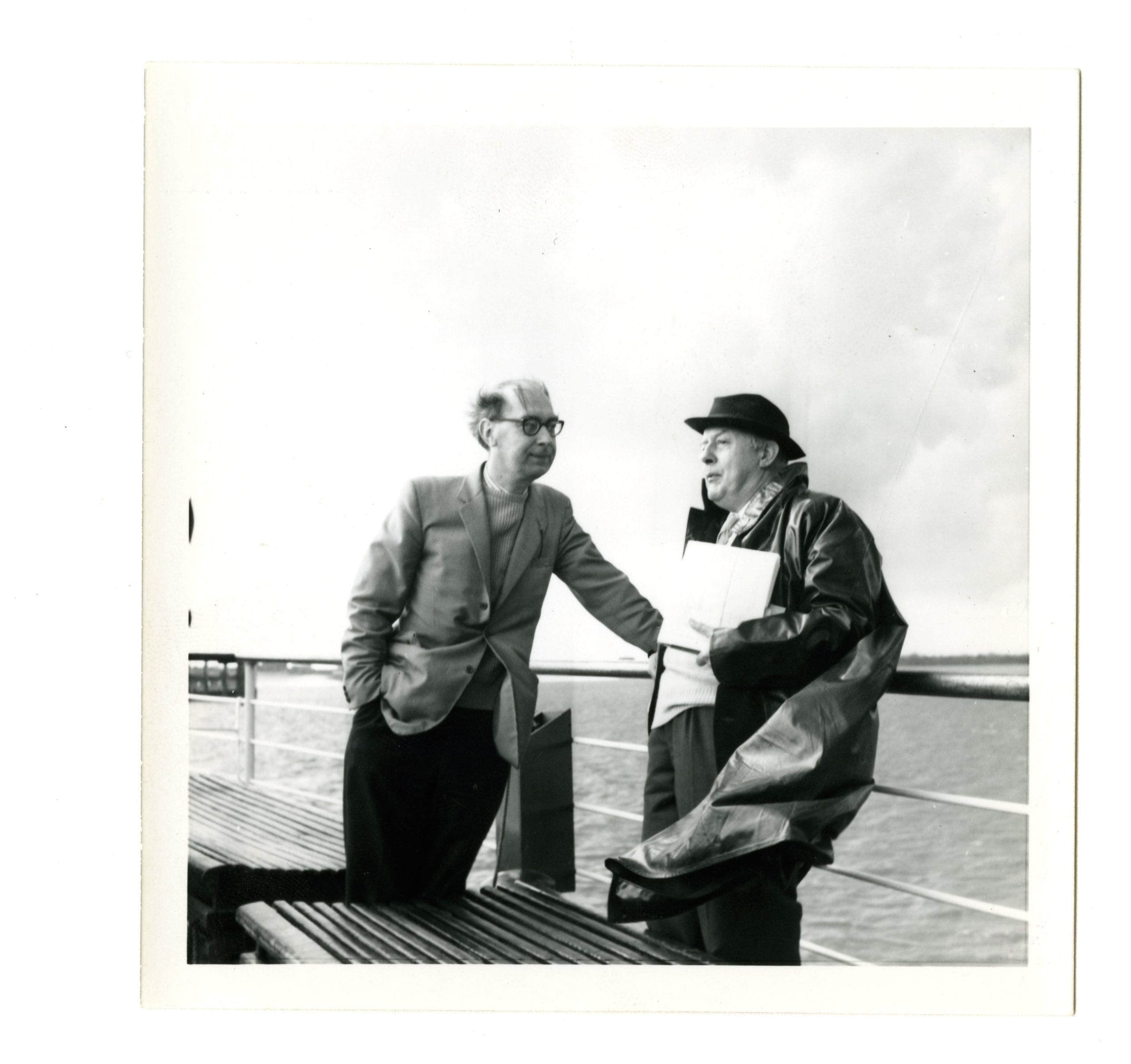 Philip Larkin and John Betjeman