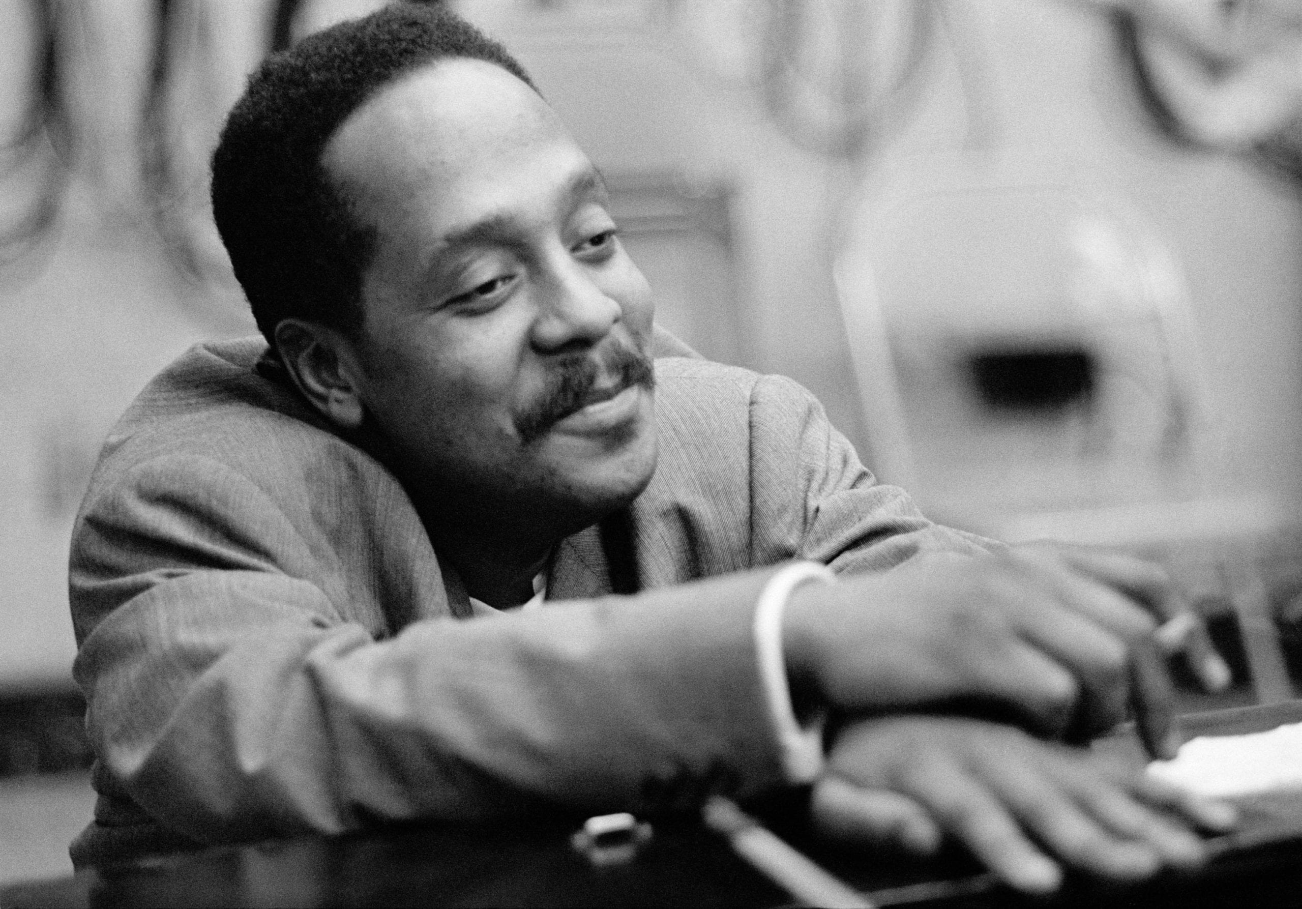 Bud Powell in the studio, New York City, 22nd Oct, 1964