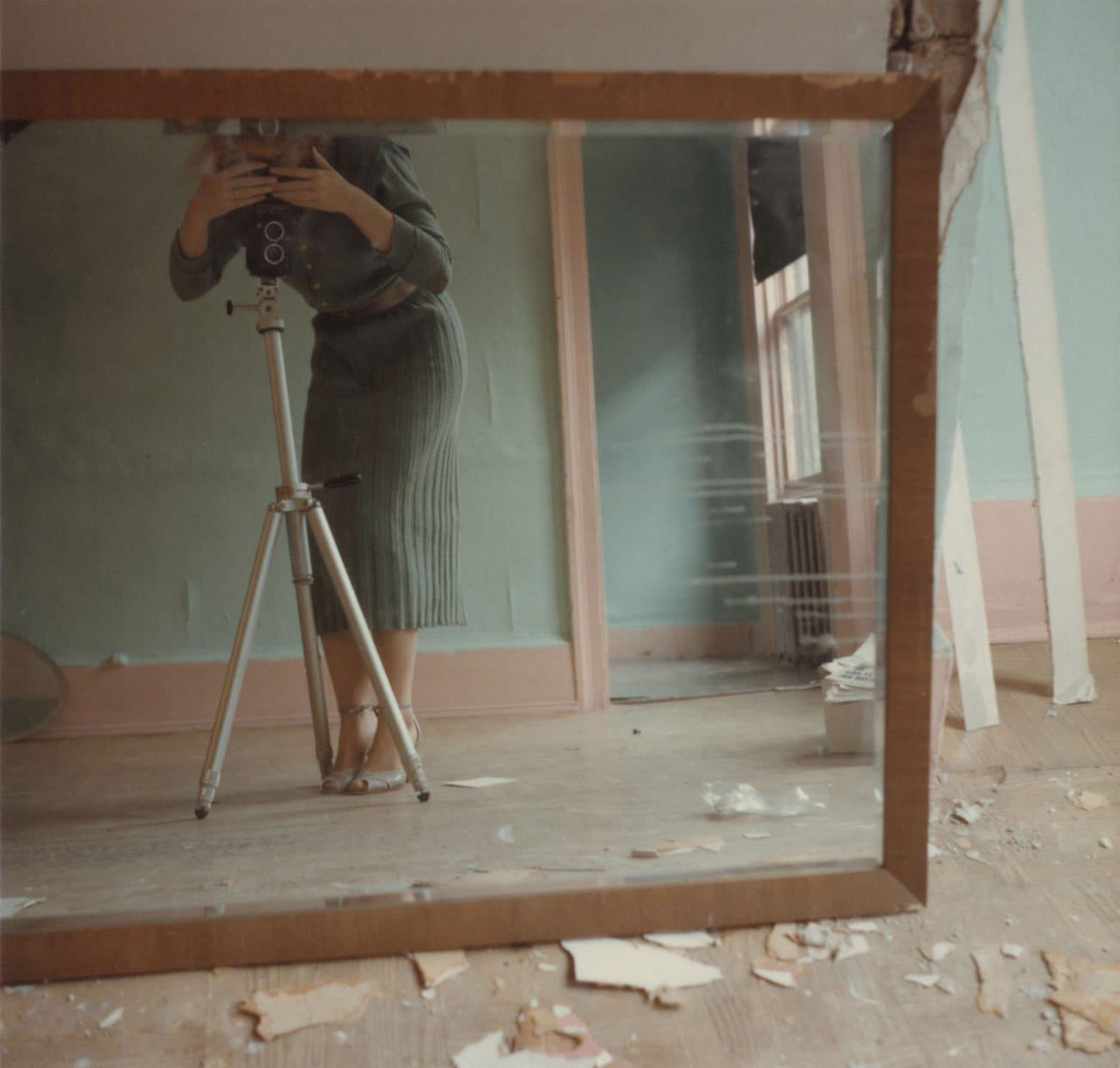 Francesca Woodman, Untitled, 1979 © Betty and George Woodman NB: No toning, cropping, enlarging, or overprinting with text allowed.