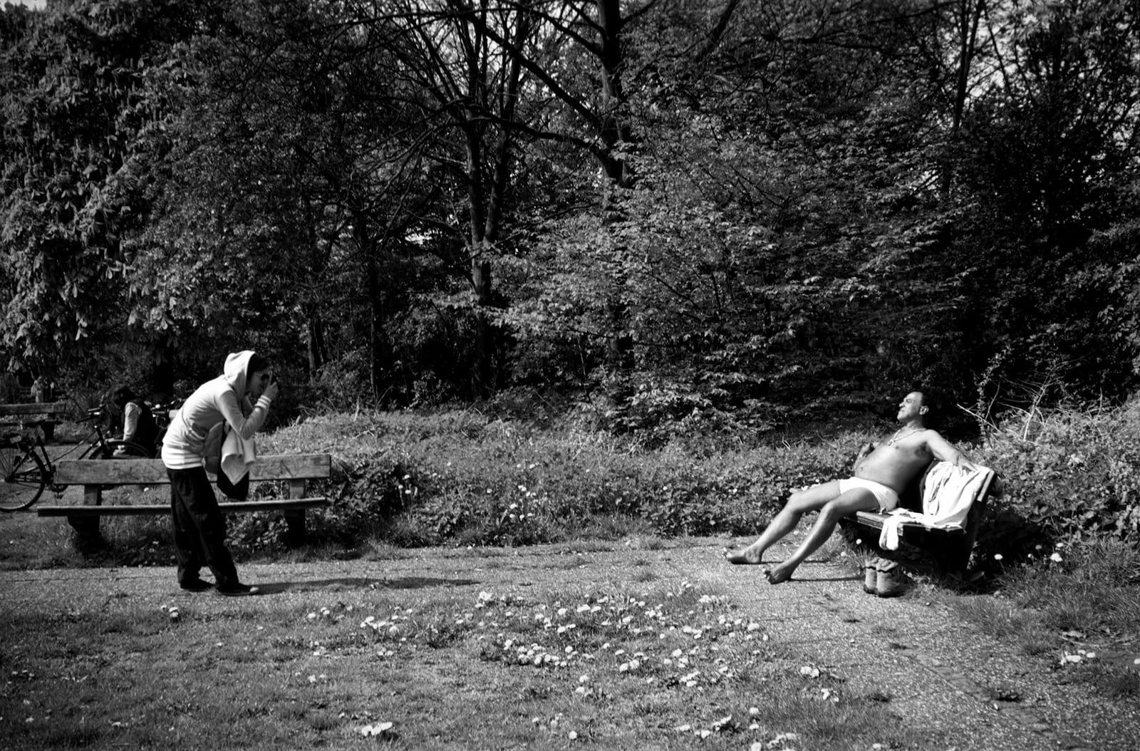 Maya Rochat_Es stinkt der Mensch, solang er lebt park © Maya Rochat