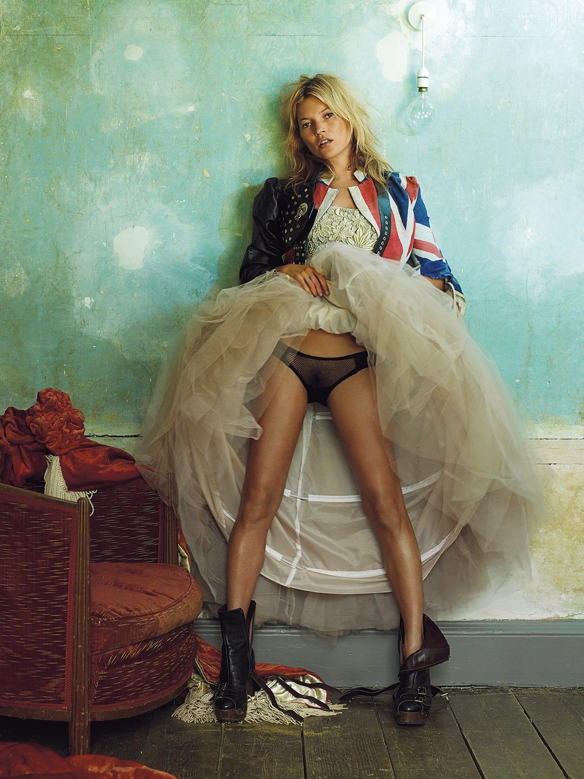 Kate Moss © Mario Testino