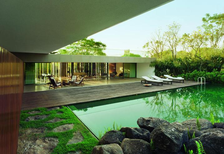 Infinite spaces how architectural escapes can endlessly extend into the landscape