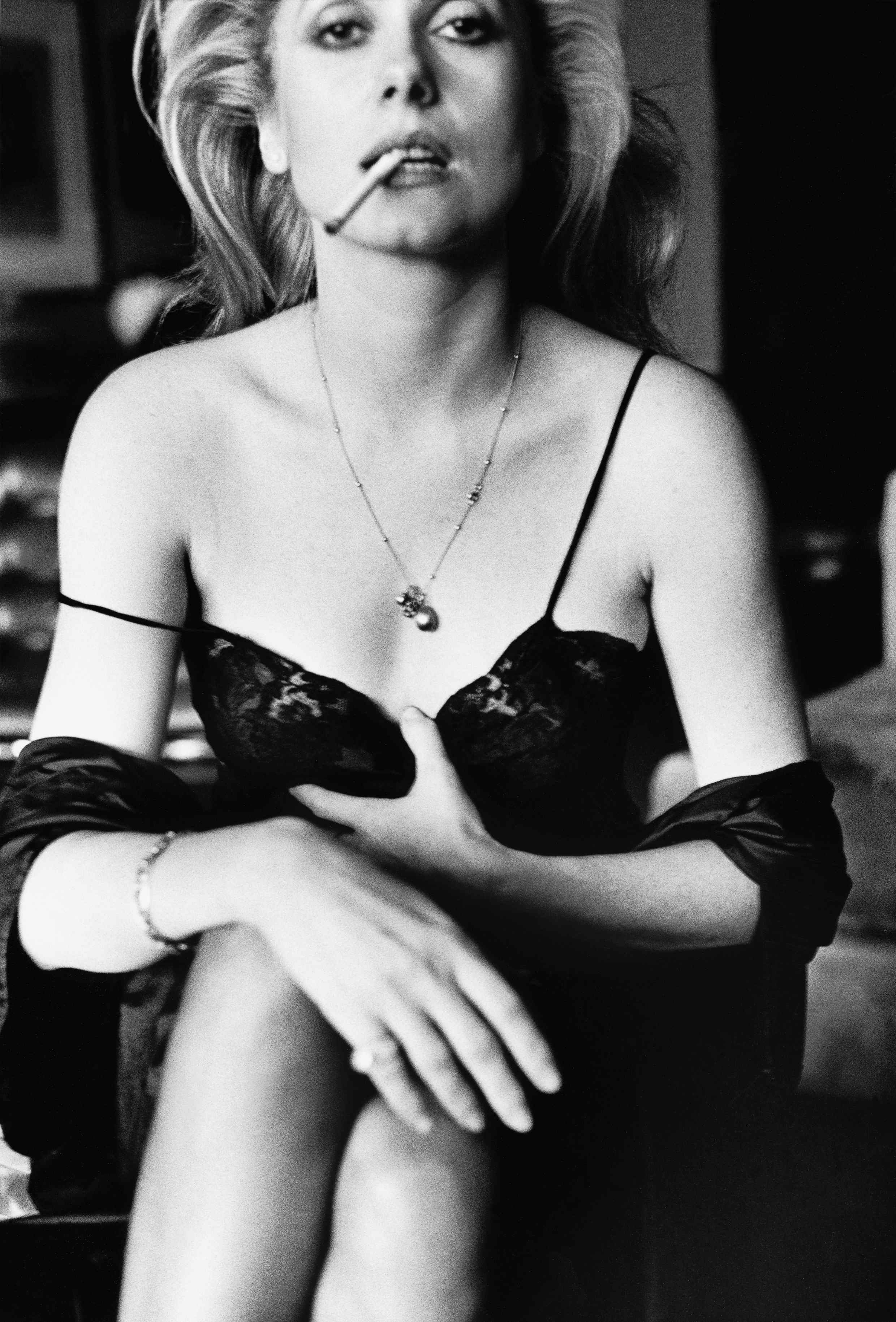 Catherine Deneuve Esquire Paris 1976 C Helmut Newton Estate
