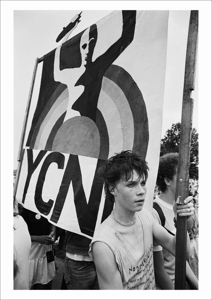 CND march and rally, Hyde Park, London, (1982)