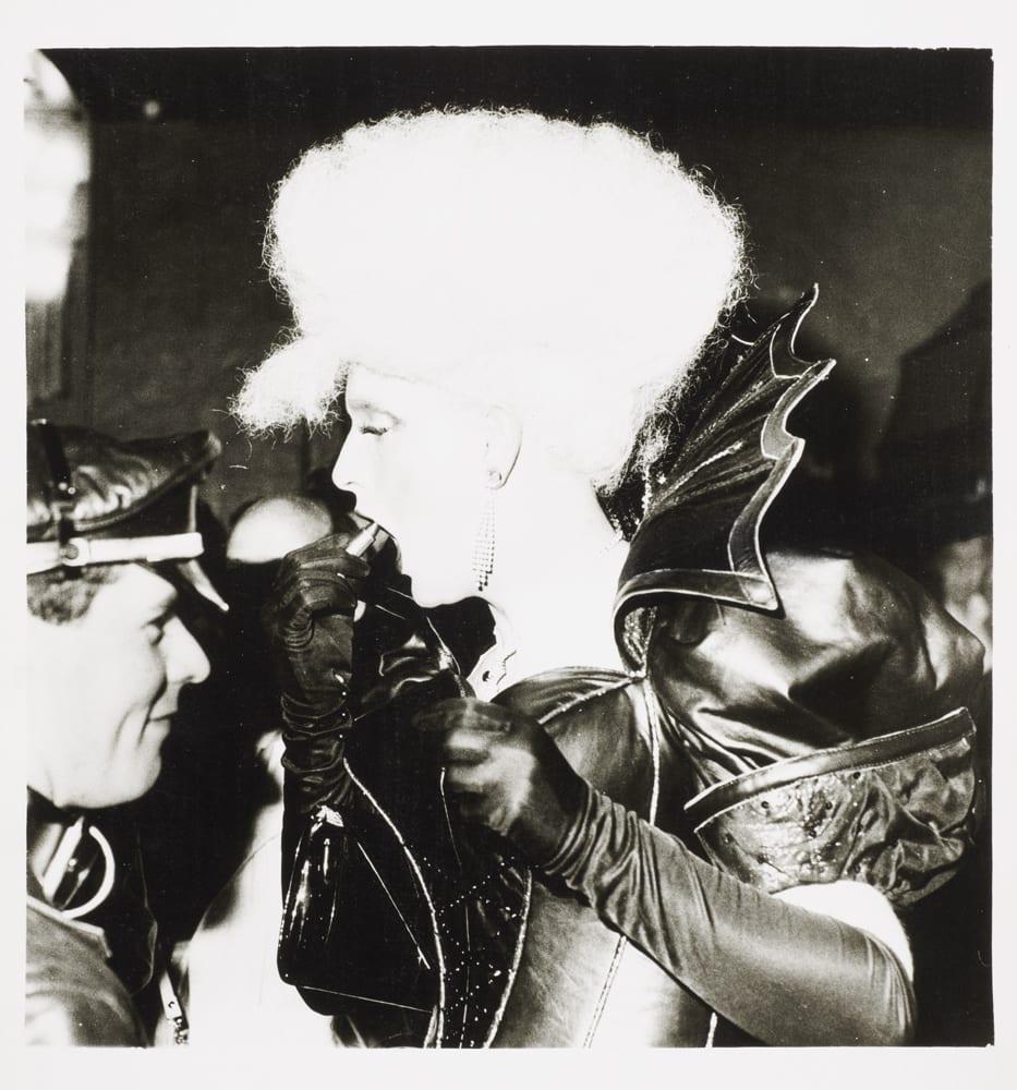 Clubber at the Blitz Club , Covent Garden 1981 - Dick Scott-Stew