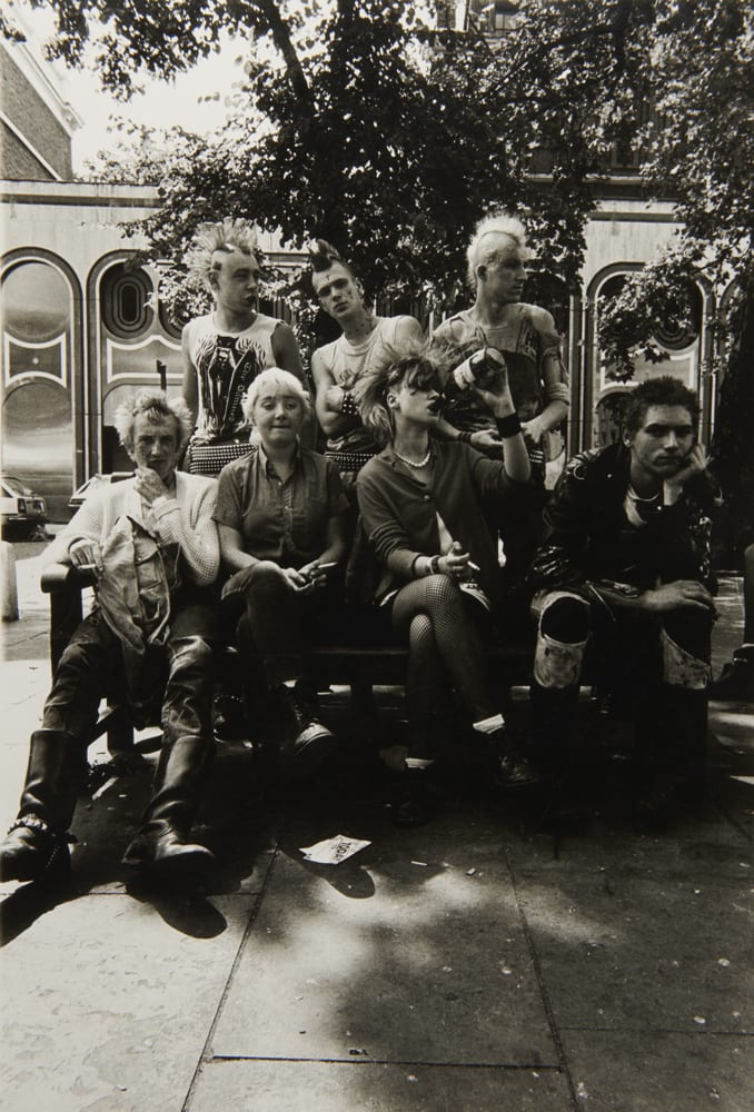 Punks on the Kings Road, 1981, Dick Scott-Stewart