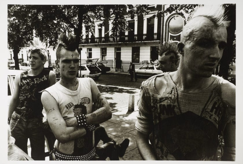 Punks on the Kings Road, 1981, Dick Scott-Stewart