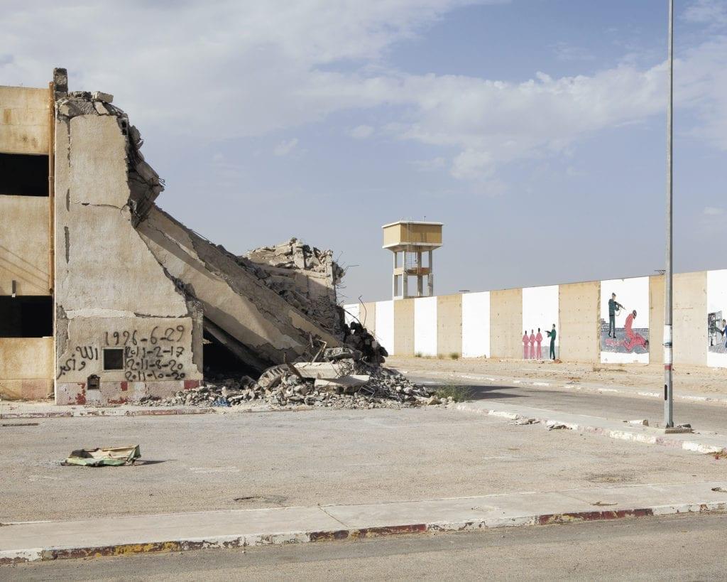 Abu Salim prison, Libya © Edmund Clark, courtesy of Flowers Gallery