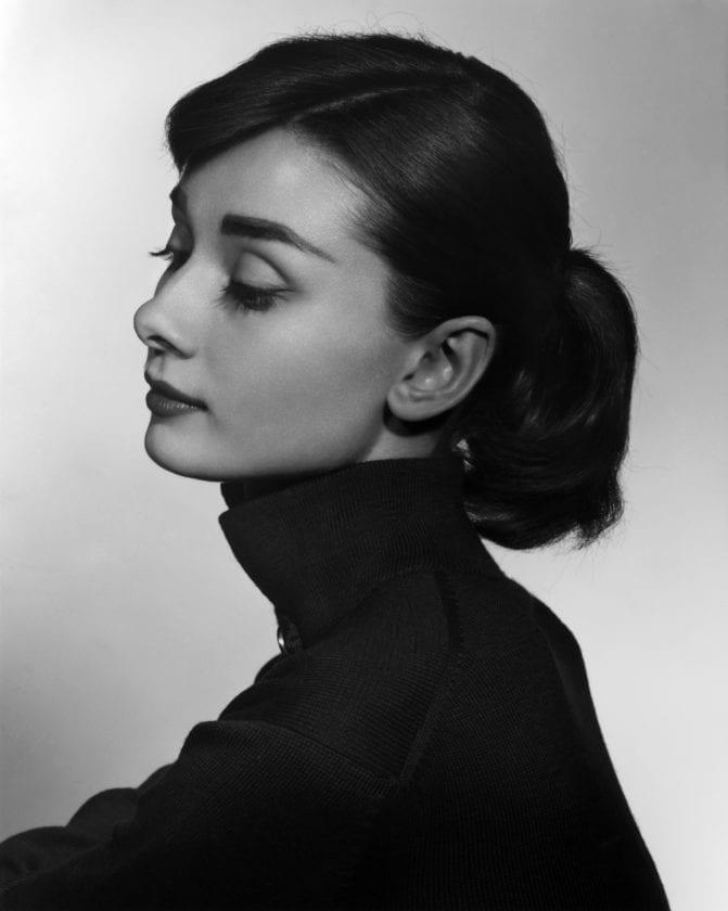 Audry Hepburn, 1956 by Yousuf Karsh