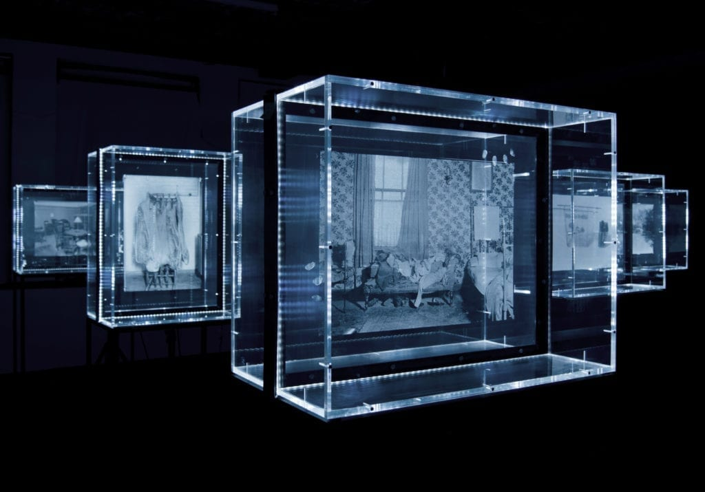 Mat Collishaw, In Camera, 2015 Courtesy the artist and Blain|Southern