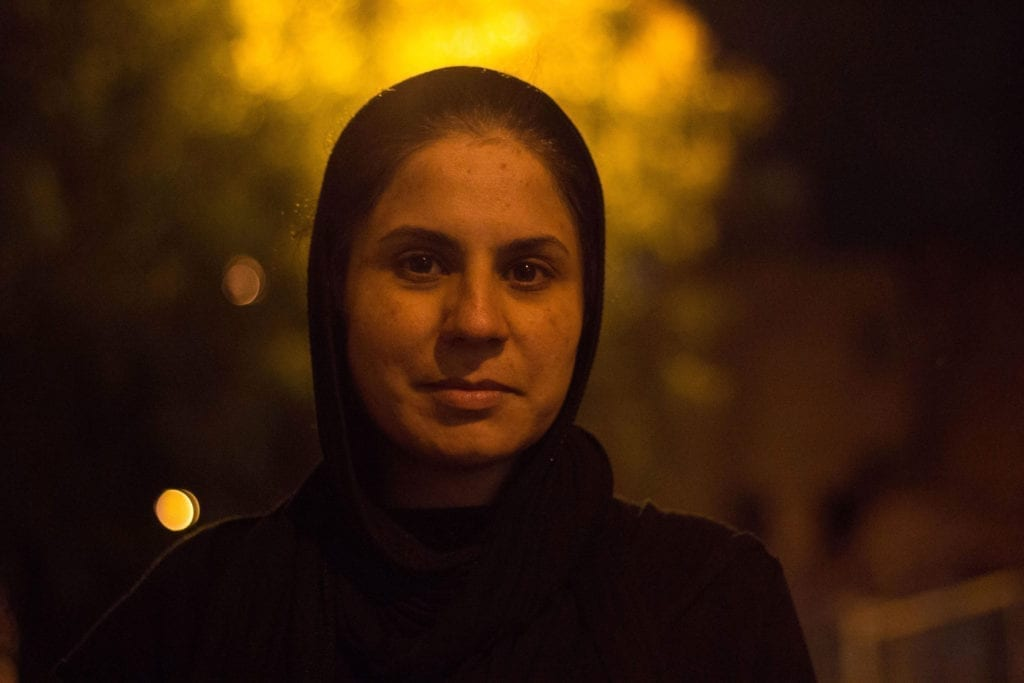 Programme Name: Exodus: Our Journey to Europe - TX: n/a - Episode: n/a (No. 2) - Picture Shows: in Athens. Karima - (C) KEO Films - Photographer: Elham Ehsas