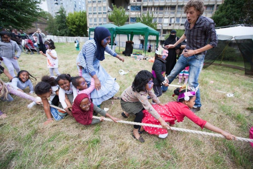 Summer fun day organised by SPLASH.