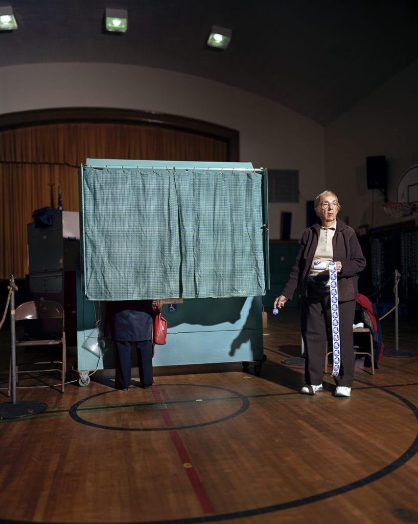 Election Day - Nov 2006 Greenwich, CT.