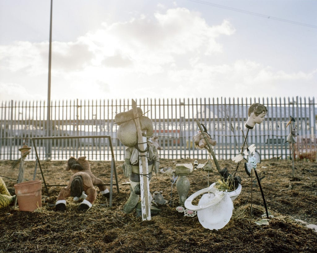 Allotment decoration, Custom House, Newham. From the series London Ends © Philipp Ebeling