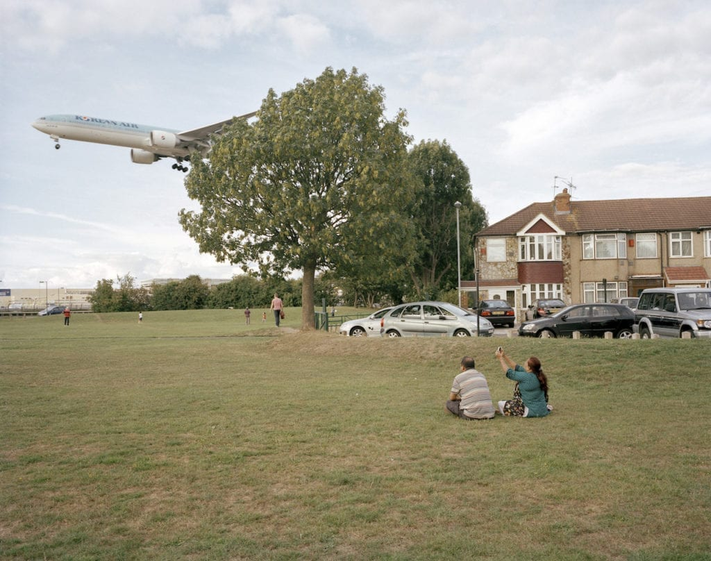 Myrtle Avenue picnic, Hounslow. From the book London Ends © Philipp Ebeling