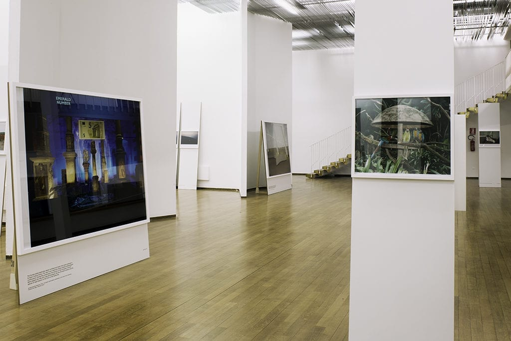 Installation shot of the exhibition The Appearance of That Which Cannot Be Seen at the Pavilion of Contemporary Art.