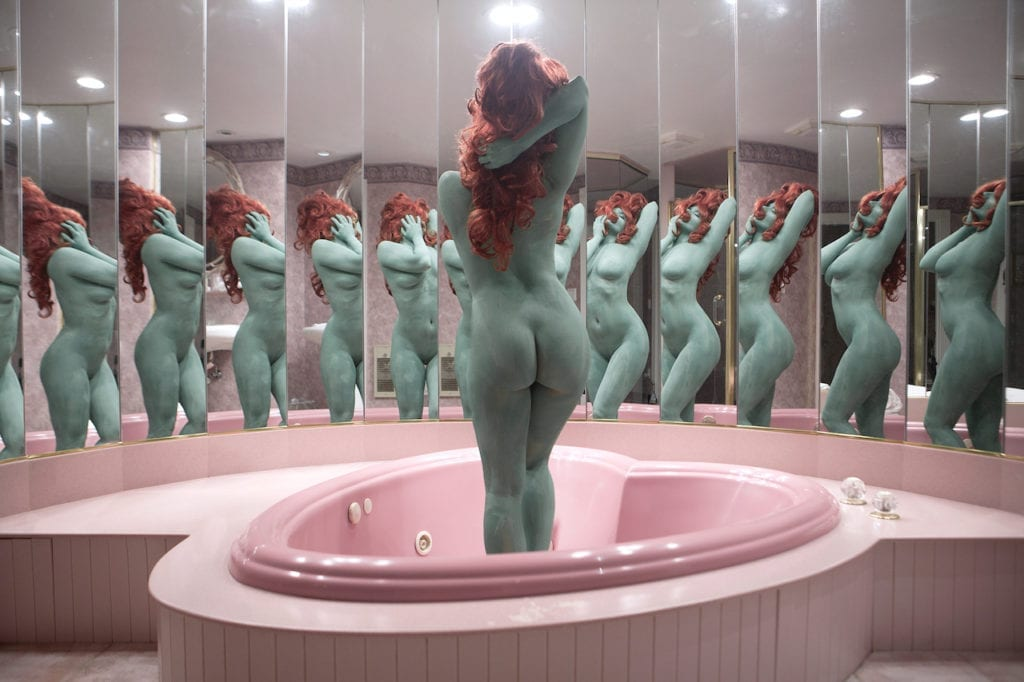 A Dream in Green, 2015 © Juno Calypso included in The Female Gaze exhibition at the Photo Vogue Festival.