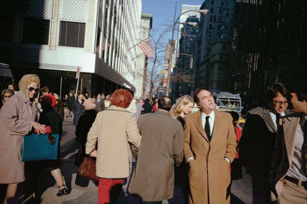 New York City, 1974 © Joel Meyerowitz