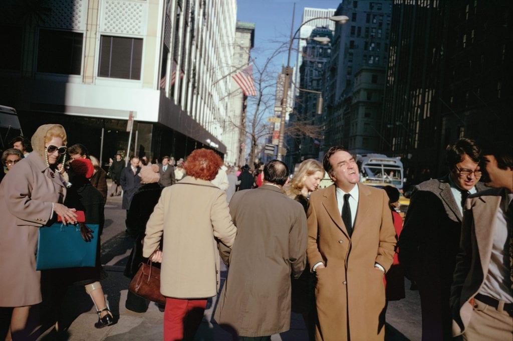 New York City, 1974 © Joel Meyerowitz