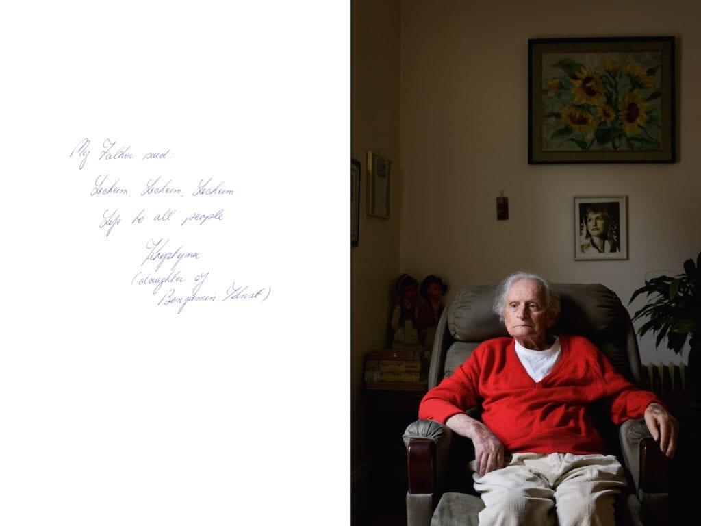 Benjamin Kynst, from Survivor: A portrait of the survivors of the Holocaust © Harry Borden