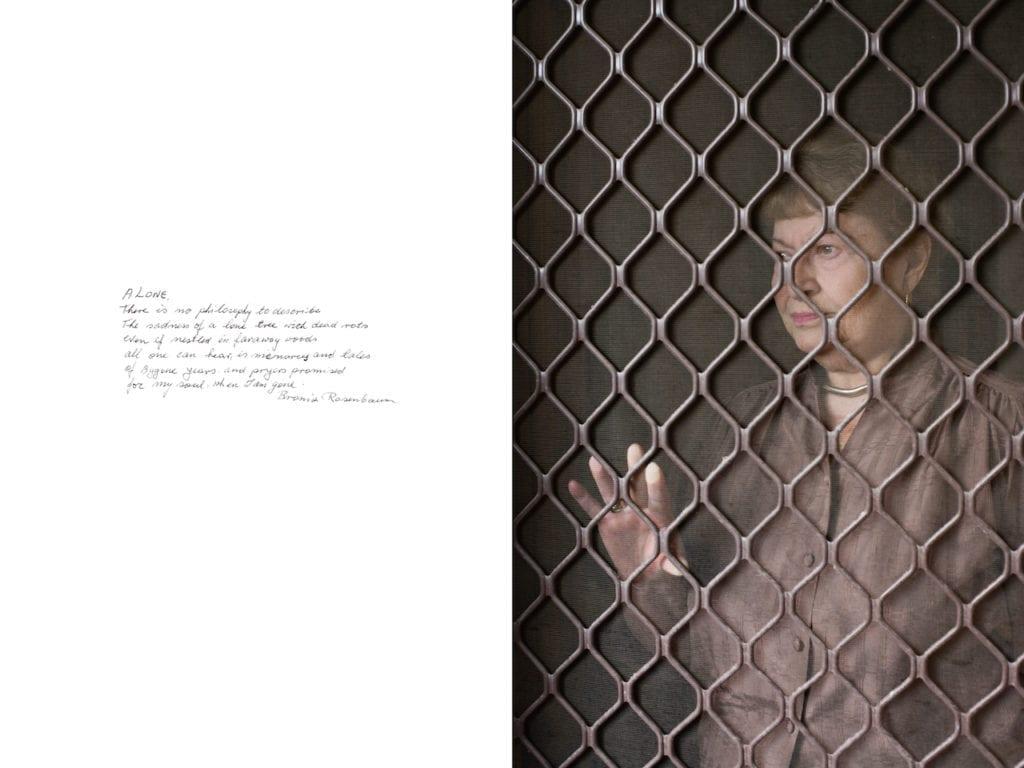 Bronia Rosenbaum, from Survivor: A portrait of the survivors of the Holocaust © Harry Borden