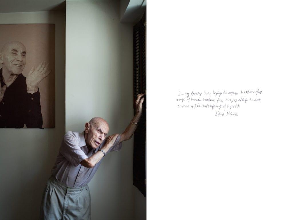 Felix Fibich, from Survivor: A portrait of the survivors of the Holocaust © Harry Borden