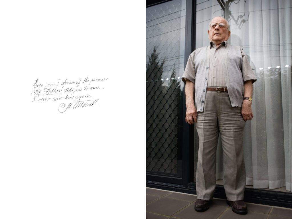 Manek Altstock, from Survivor: A portrait of the survivors of the Holocaust © Harry Borden