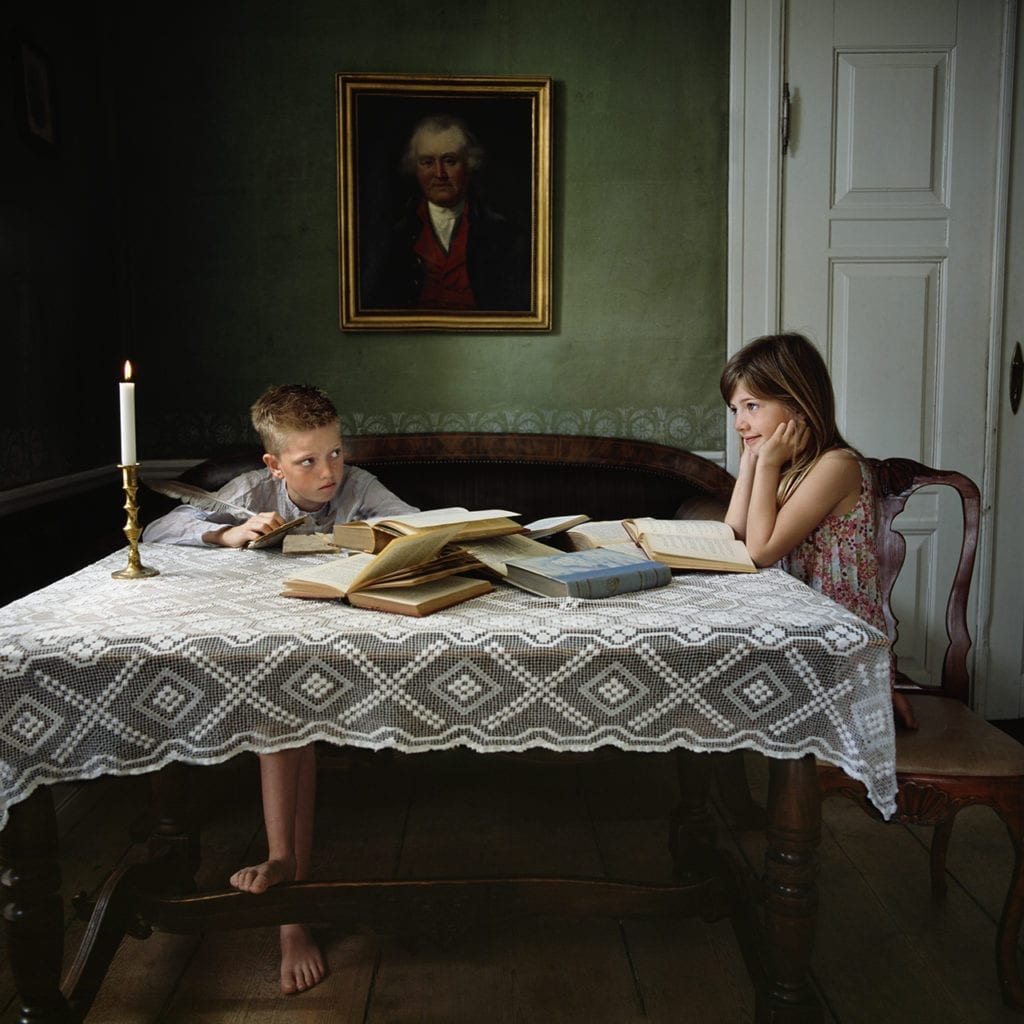 Reflecting on History, from the series Brother & Sister © Viktoria Sorochinksi
