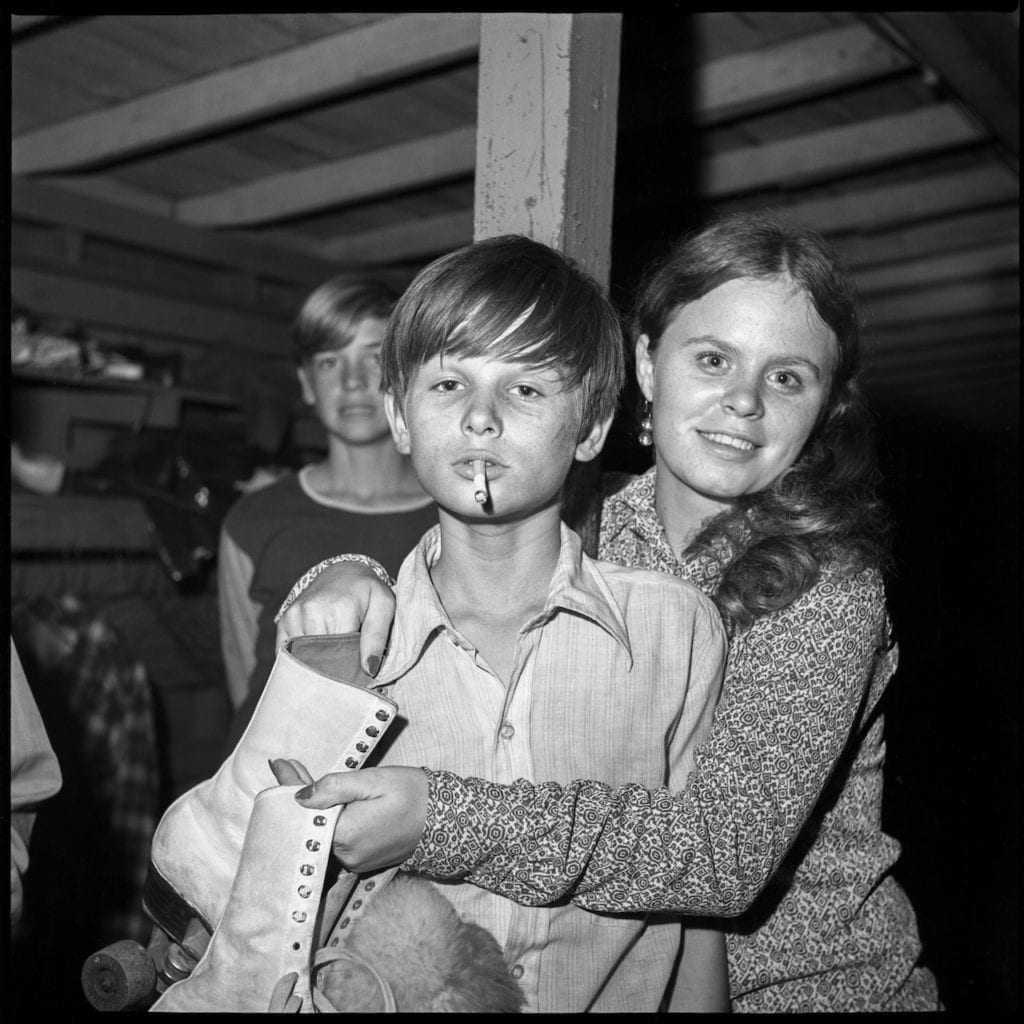 From the series Sweetheart Roller Skating Rink - 1972-1973, Six Mile Creek, Hillsborough County, Florida. Image © Bill Yates