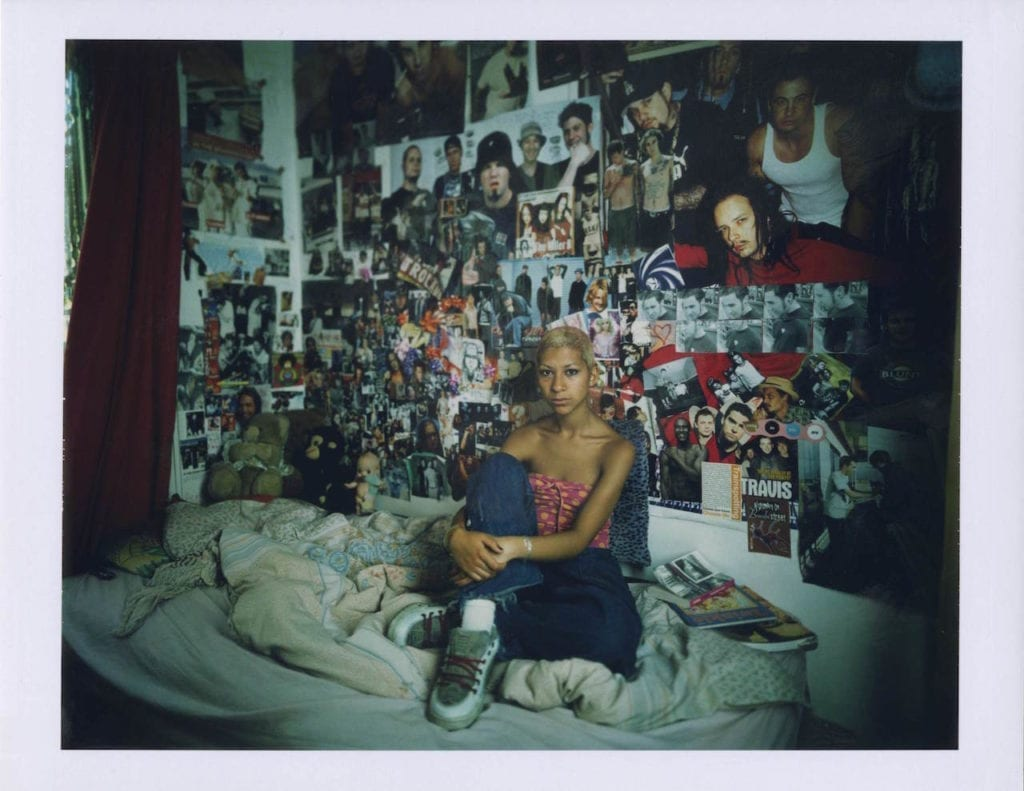 Charlotte, London, 2001. From the series 15-18: Teenagers in their Rooms © Edward Barber