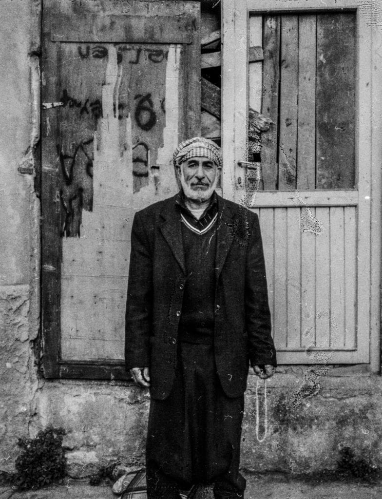 Ali owned a hardware store and restaurant in Homs before the Syrian civil war. He lost his sister and sister's children in a bombing. Istanbul, Turkey, April 2014. From the series November is a beginning © Esa Ylijaasko