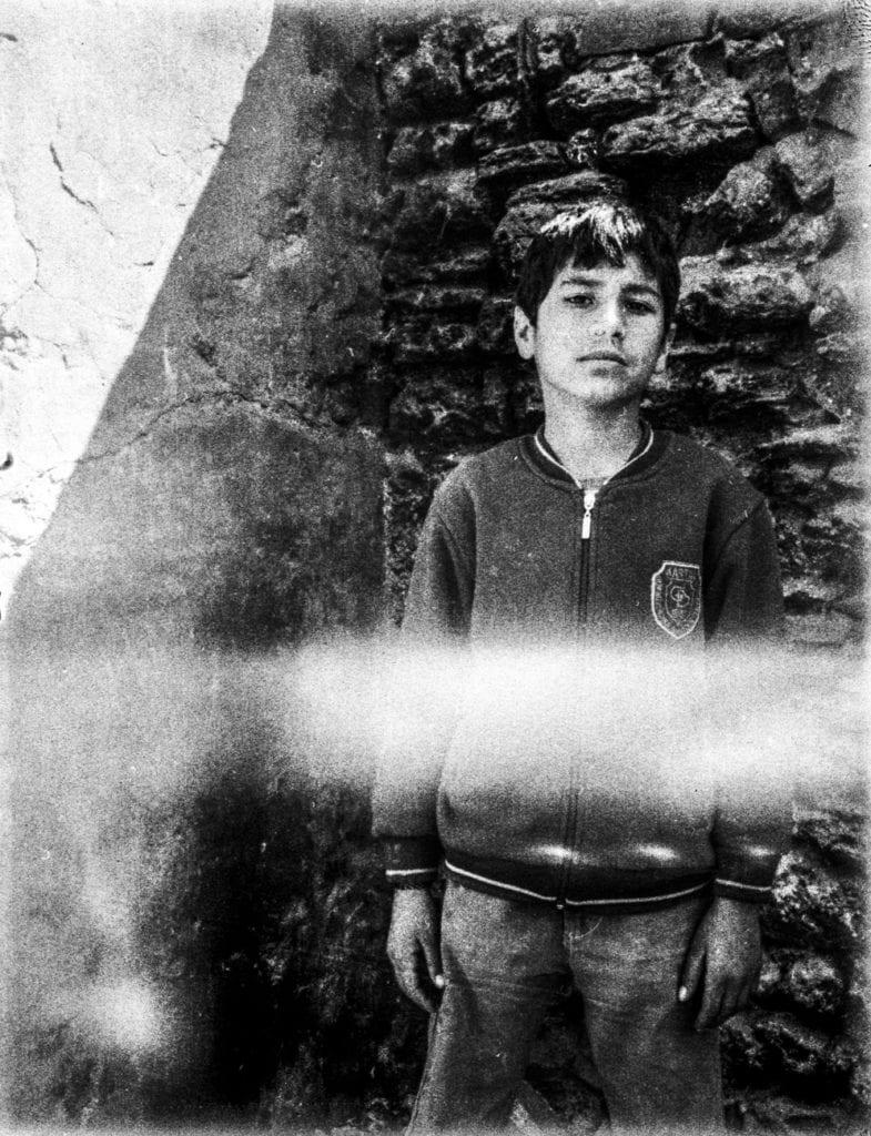 Syrian boy in Süleymaniye, Istanbul, Turkey, April 2014. From the series November is a beginning © Esa Ylijaasko