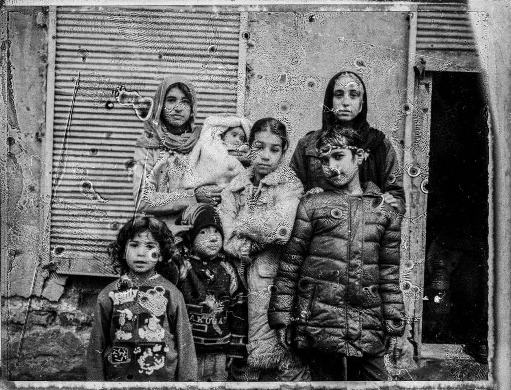 Syrian kids in Süleymaniye, Istanbul, Turkey, March 2015. From the series November is a beginning © Esa Ylijaasko