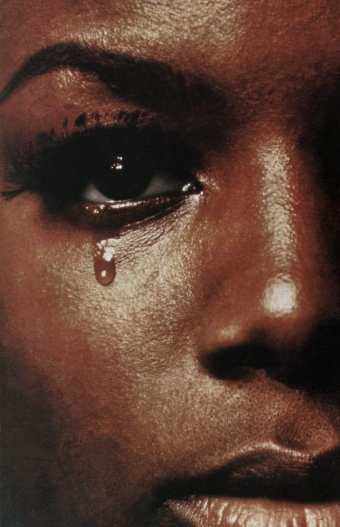 Woman Crying #2, 2016 © Anne Collier, courtesy the artist; Anton Kern Gallery, New York; Marc Foxx Gallery, Los Angeles; The Modern Institute/ Toby Webster Ltd., Glasgow; Galerie Neu, Berlin