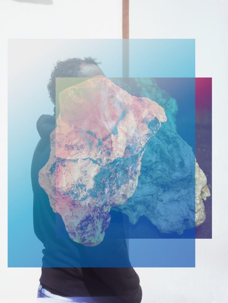 From the series Talcum © Seba Kurtis, courtesy Christophe Guye Galerie