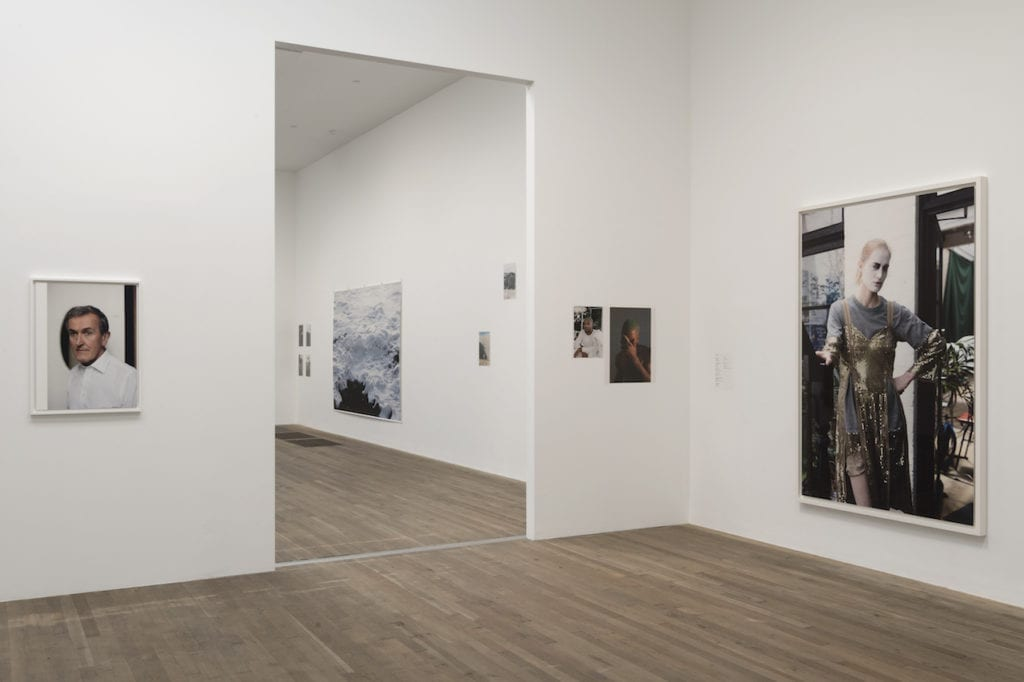 Installation shot of room 13, which focuses in on Tillmans' portraiture. Image © Tate Modern showing Wolfgang Tillmans: 2017 at Tate Modern 15 February - 11 June