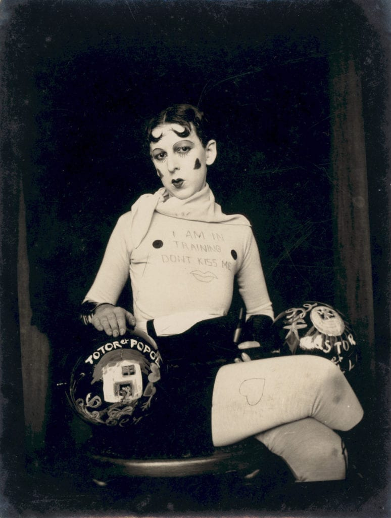 I am in training don't kiss me by Claude Cahun, c.1927 © Jersey Heritage.